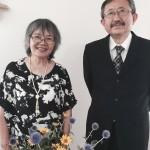 右:石井規之牧師  左:斉藤美津恵さん