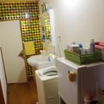 2階ミニ冷蔵庫/洗濯機/洗面台